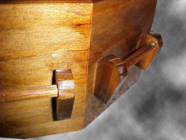 Coffin Cat Bed - Handle Detail