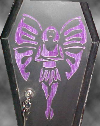 Fairy Coffin Purse - Front Detail