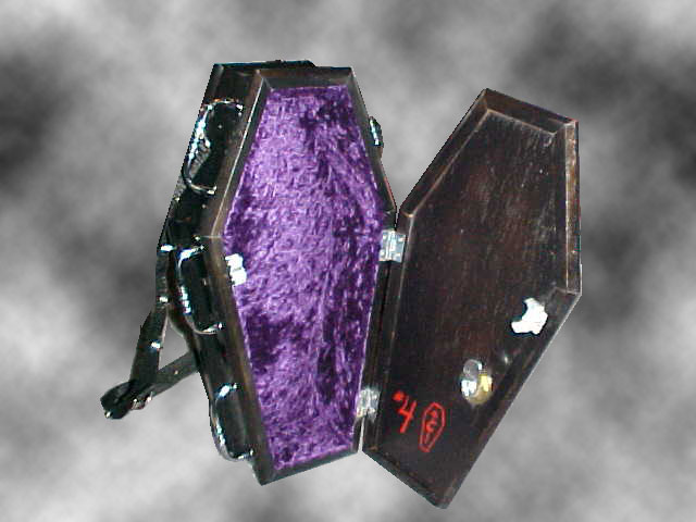 Fairy Coffin Purse - Interior