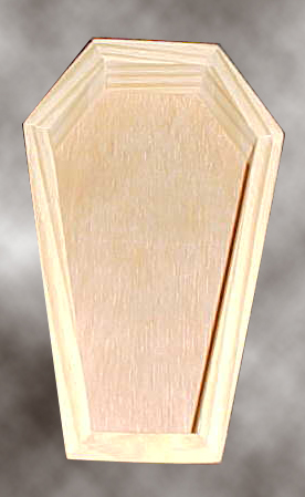 Coffin Prop Top View