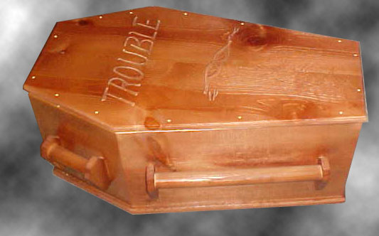 Pet Coffin - Side view