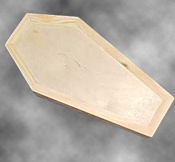 Maple Jewelry Coffin