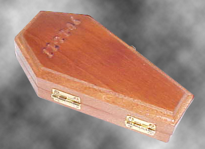 Wedding Ring Coffin