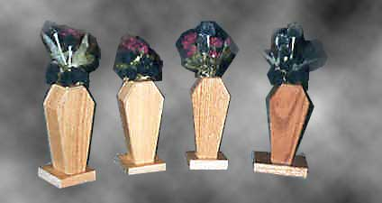 Coffin vases