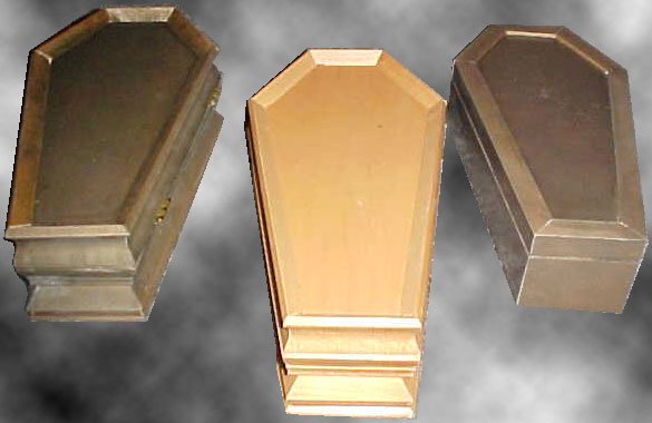 Coffin Jewelry Boxes