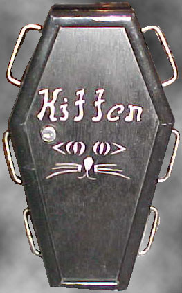 Coffin Purse 1 - The Kitten Purse